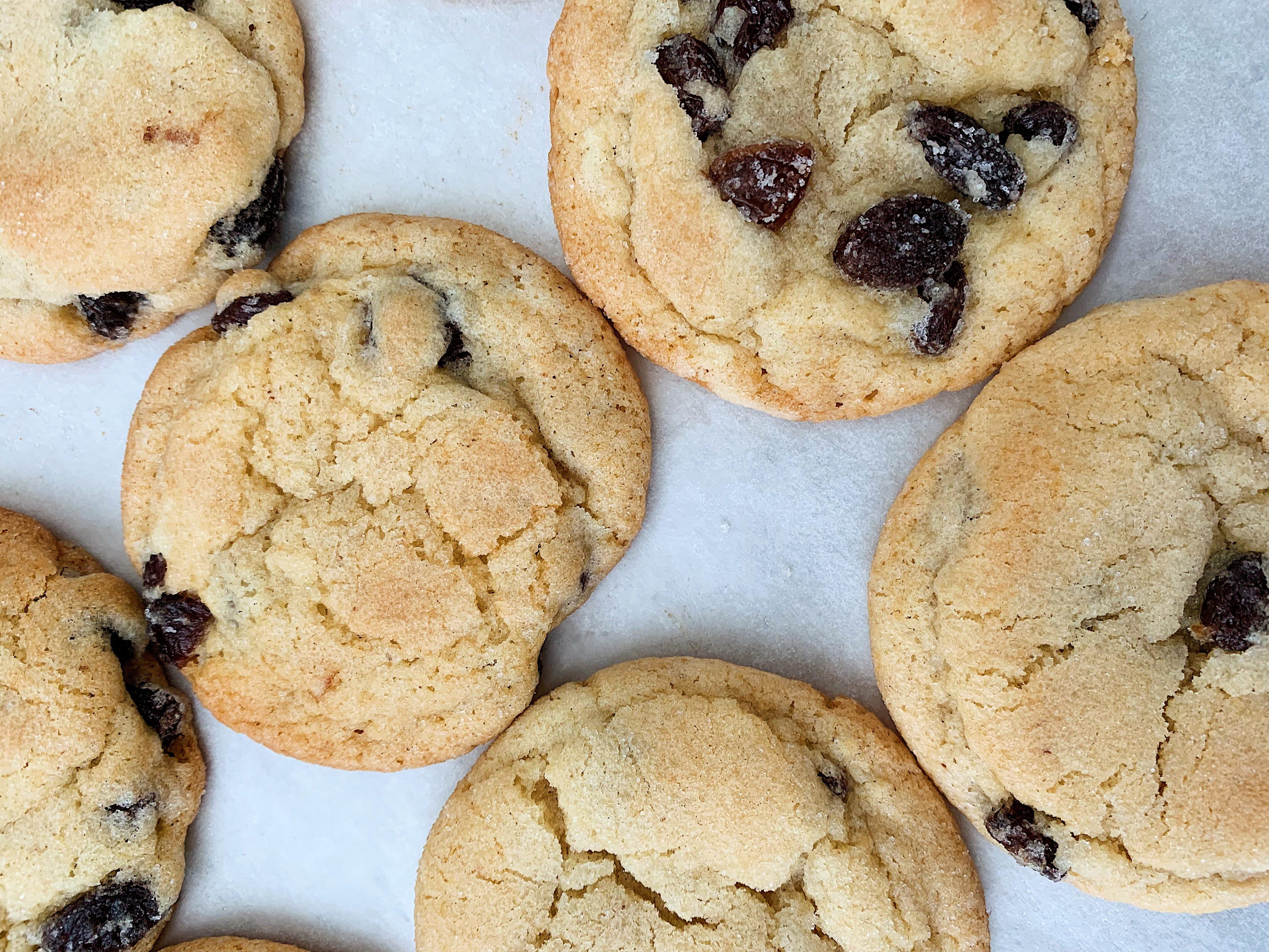 Grandma's Boiled Raisin Cookies