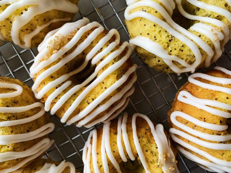 Grandma's Lemon Poppyseed Bundt Cakes