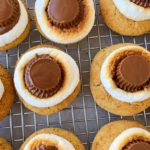 Peanut Butter Cup S'mores Cookies