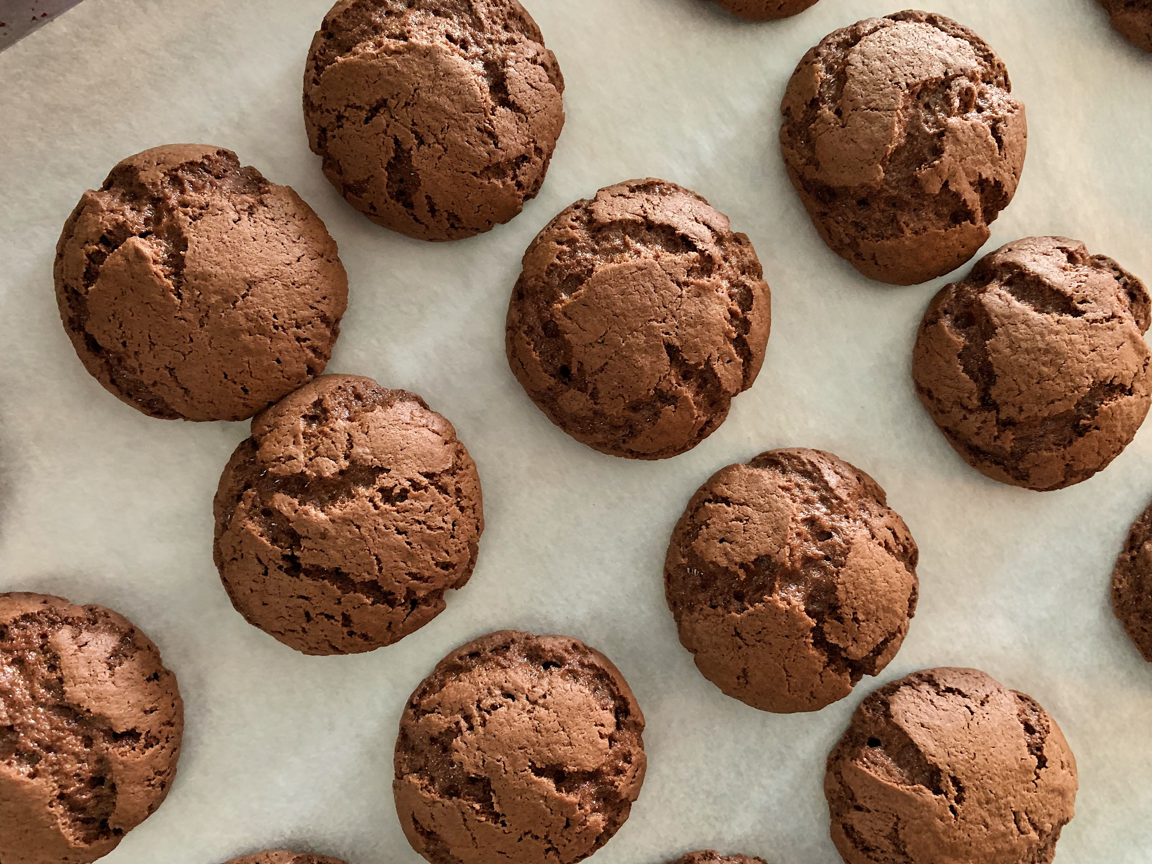 Homemade Mint Oreo Cookies