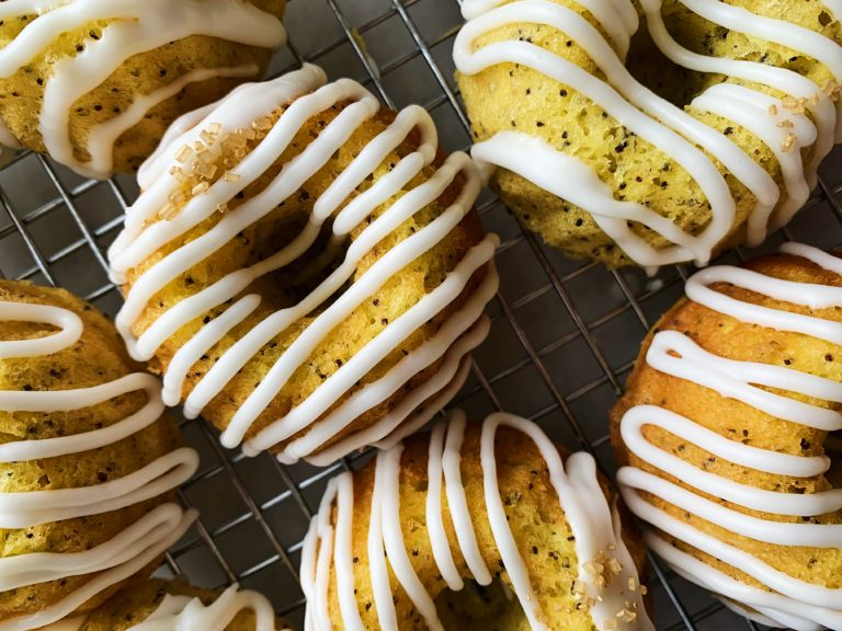 Grandma's Lemon Poppyseed Bundt Cakes