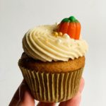 Pumpkin Cupcakes with Browned Butter Cream Cheese Frosting