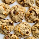 Toffee Pretzel Chocolate Chip Cookies
